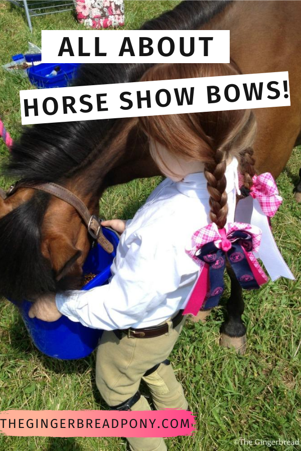 Horse Show Bows PIN