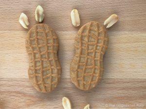 Peanut Ears on Cookies