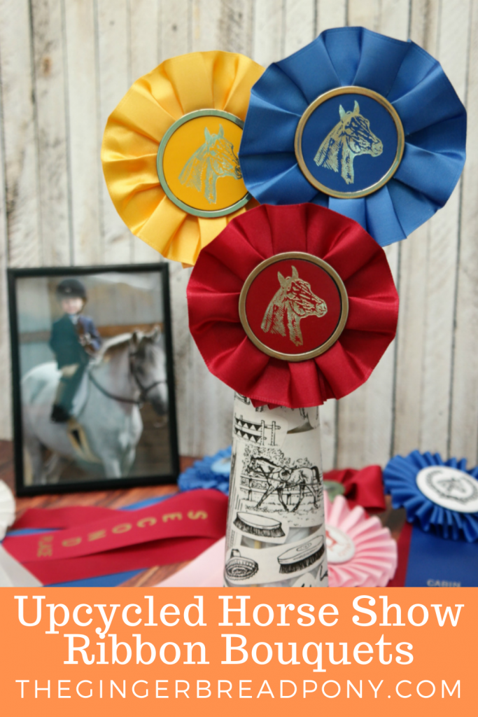 Horse Show Ribbon Bouquets PIN