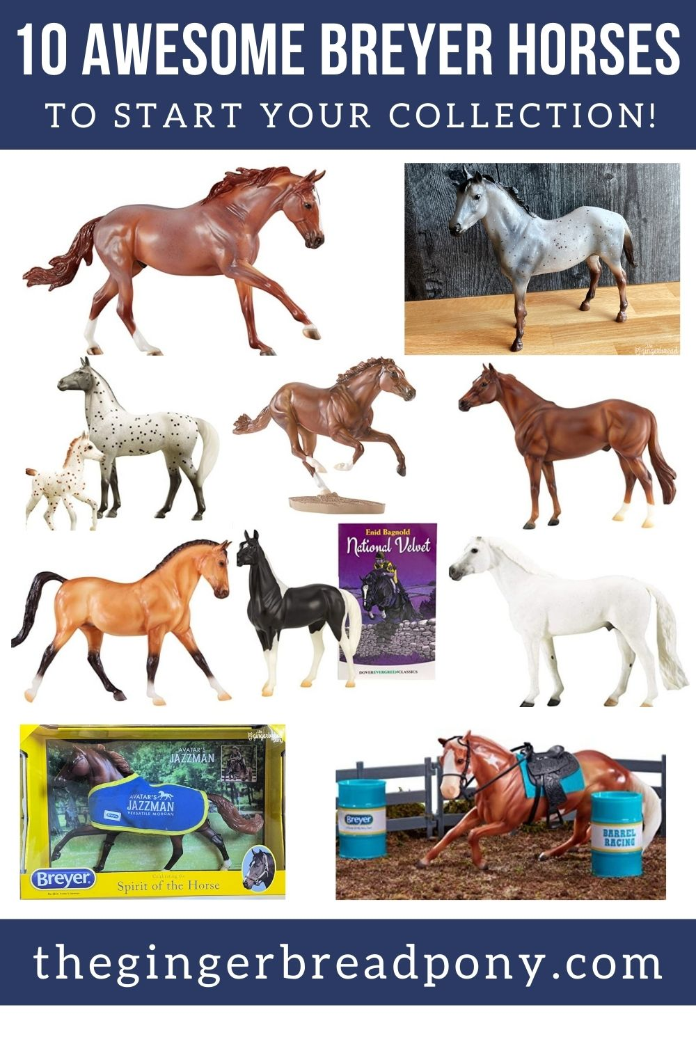 Breyer Horse Starter Collection PIN