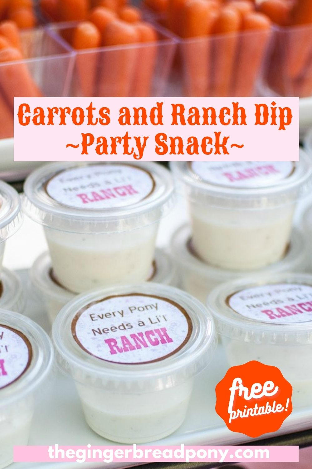 Ranch Dip Party Snack PIN