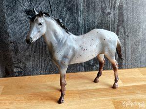 Wild Blue Breyer Horse