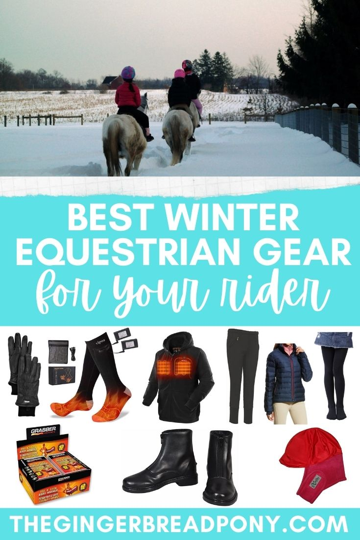 Winter Horse Gear PIN