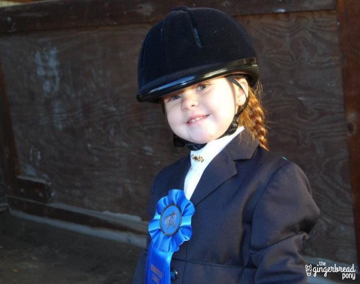 lily first horseshow 2