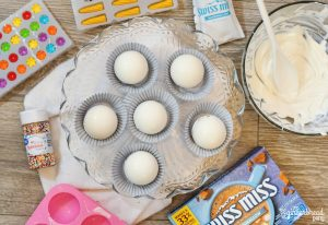 white hot chocolate bombs assembly