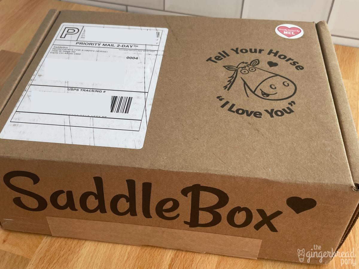 SaddleBox Shipment