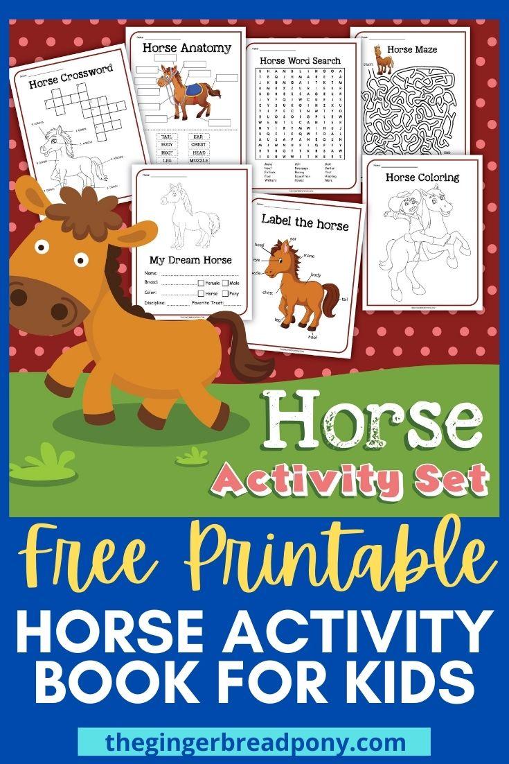 Horse Activity Book PIN