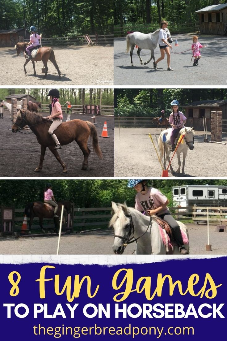 8 Fun Games to Play on Horseback PIN